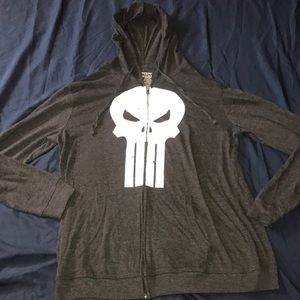 MARVEL Punisher Zip Up Jacket